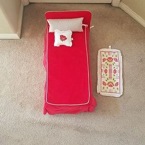 American Girl - Molly's bed